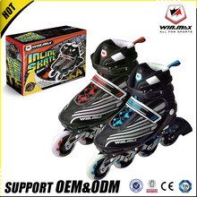 High quality professional best Blue pink purple red inline roller skates