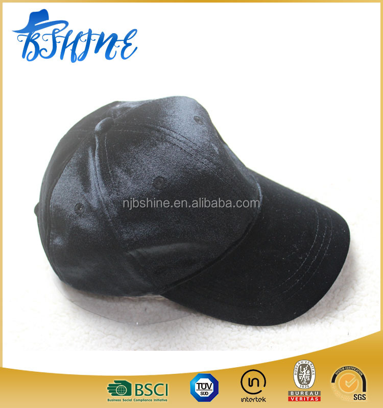black silks sport hat satined baseball hats and caps