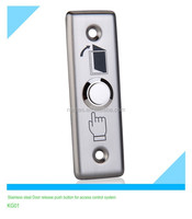 Stainless steel Door release push button for access control system