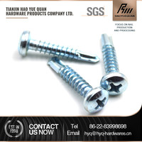 5mm stainless steel wafer head self drilling screws