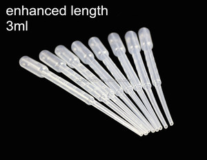 Disposable Plastic Storage Syringes, Pipettes100pcs 0.5 Ml Disposable Plastic Dropper Transfer Pipette Pipet
