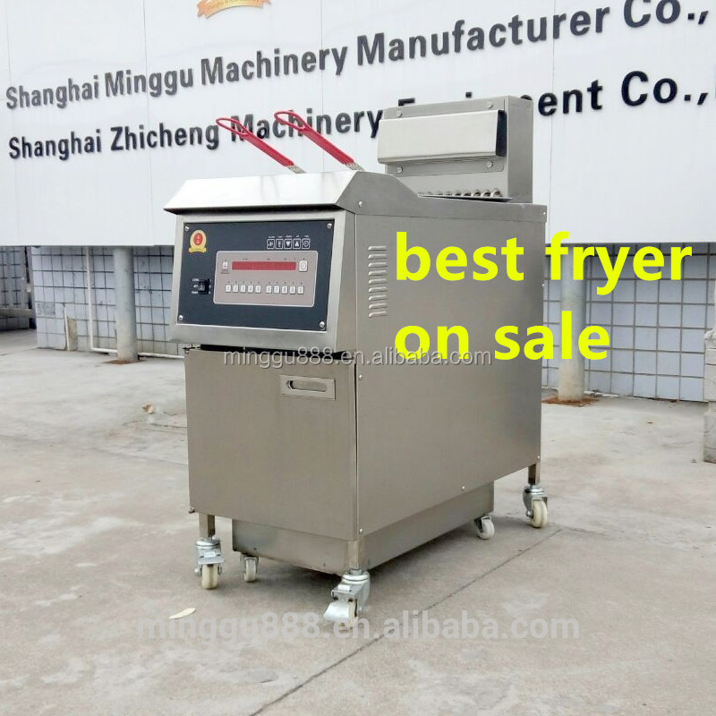 broasted chicken equipment Best Price Adjustable Lpg Gas Deep Fryer With Temperature Control, gas chicken pressure fryer/LP gas