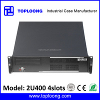 TOP2U400 2U 19inch Micro atx rackmount server chassis pc case with 4slots support 9.6 x 9.6 motherboard