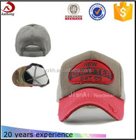 Promotional Customize Red Mesh base-ball cap manufacturer