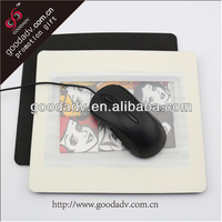 Hot sale cheap custom EVA photo frame mouse pad