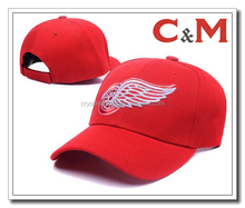 Red Wings Hats Baseball Embroidered Caps