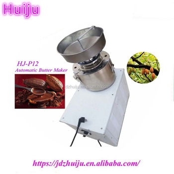 45kg/h automatic industrial peanut butter making machine HJ-P12