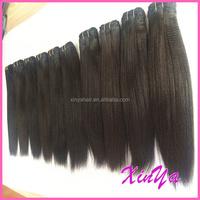 Best Quality 9A Unprocessed Virgin Natural Black can dye yaki human hair