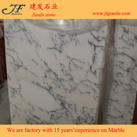 Natural Polished Arabescato White Marble Slabs