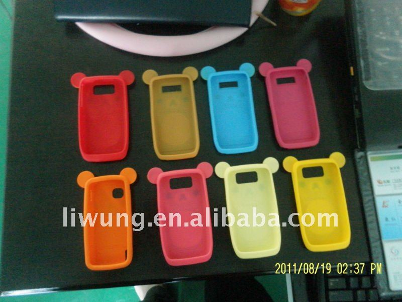 Ready mould silicone mobile phone case