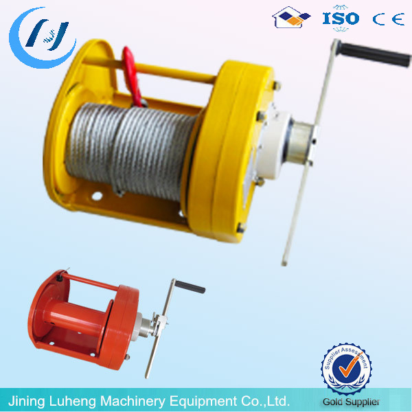 High speed 2ton manual hand winch, LH high Quality manual winch