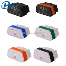 2016 Newest arrived multi-colors Mini Vgate Bluetooth ELM327 iCar2 version OBD ELM327 Code Reader for android and iphone