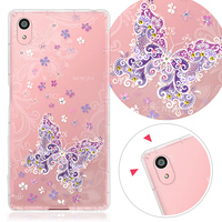 For Sony Z5 mobile phone accessories Crystal Crashworthiness phone case