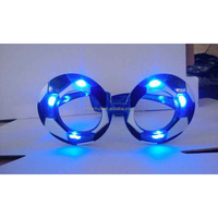 would cup fans led glasses Blue Green or Red led color party glasses