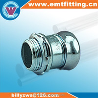 Top quality made in China supplier factory direct electrical metallic tubing compression adapter with pipe fitting