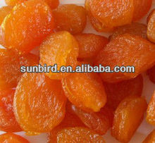 Chinese food Grade Dried Apricot/Preserved apricot fruit for choclate