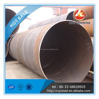 Tianjin BOAI Large diameter SSAW welded spiral steel pipe in sale FACTORY