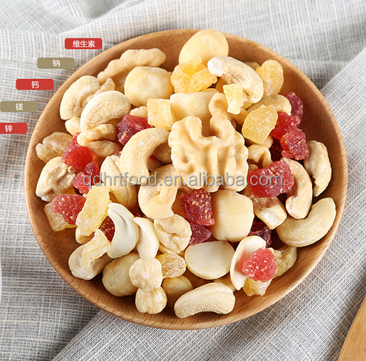 EU Standard Dehydrated fruits & Nuts Mix,Dried fruits mix with nuts for Snacks