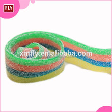 Tray packing Rainbow Straw Sour karate Belts Candy