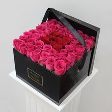 wholesale delivery bouquet gift cardboard for flower packaging box