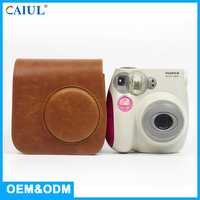 Hot Sale Brown Color Retrostyle Trolley Bag / Camera Case For Ladies