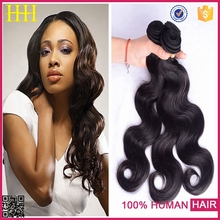 Grade 7A top quality large stock tangle free no shedding yiwu hair