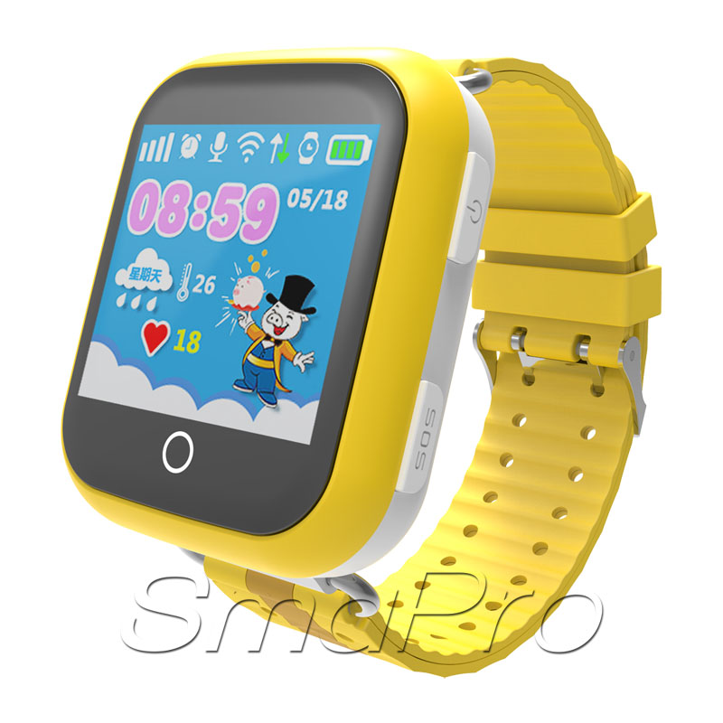 Kids Cartoon Watch Latest Smart Wrist Watch Mobile Phone