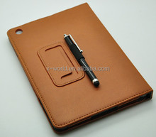 Flip Portable PU leather cover case stand holder for Apple ipad mini