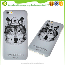 New product new design bumper wolf phone case for iPhone 6 4.7 inch