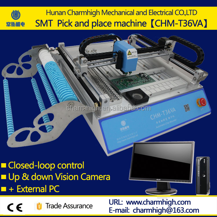 SMT pick and place machine TM240A original manufacturer directly supply SMT production line