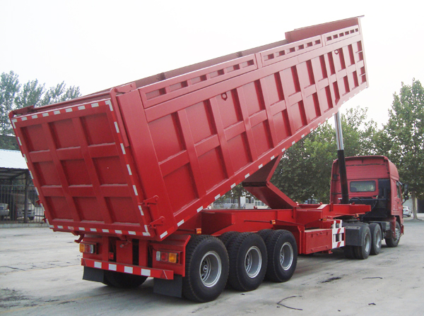 CIMC Hot Sale 3 Axle Faw Tipper Semi Truck Trailer For Sale In Kenya