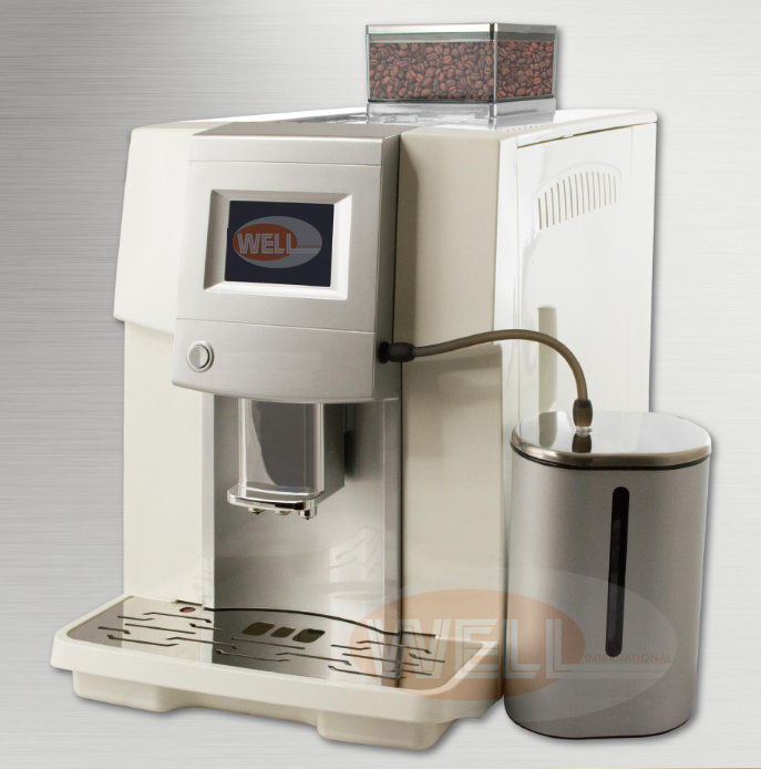 New model, One touch fully automatic espresso Cappuccino coffee machine / maker