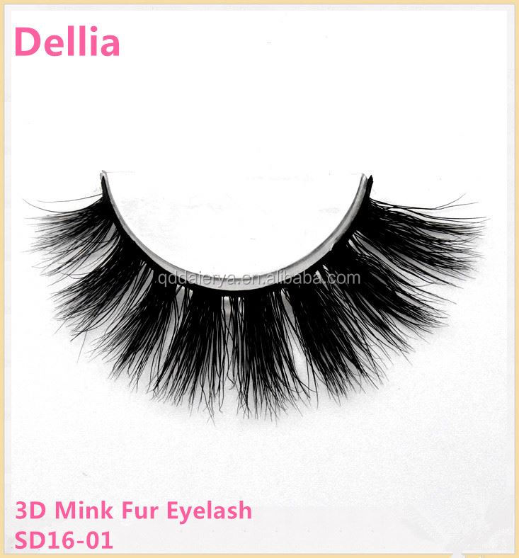 Dellia Mink Hair Eye lashes And Eyelash Extension Tweezers