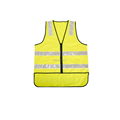 High visibility reflector safety vest for road safety KF-103-2