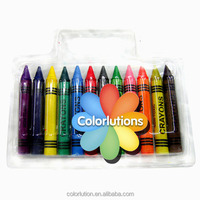 hot sale customized high quality non-toxic crayon set supply for school