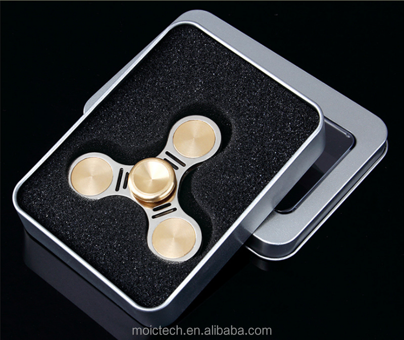 Brass Finger Spinner Top Quality Fast Delivery Hand Spinner Packed In Metal Box