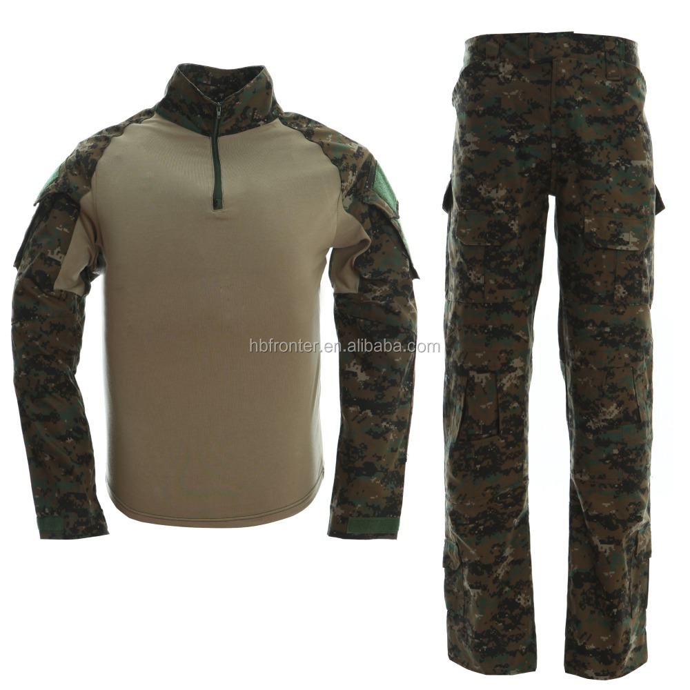 Customized Hunting Woodland Military Camouflage Clothing