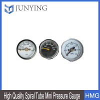 High Quality Spiral Tube Mini Pressure Gauge