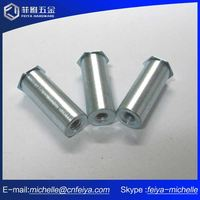 China Supplier Zinc Plated Hem Fix Flat Head Blind Rivets Fastener