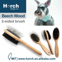 Durable best suited for medium to large breeds pet dog brushes