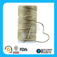 Stock 100 M Packing Jute String Jute Twine