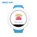 APPSCOMM 2018 Smart Watch GPS Tracker Wristwatches Kids Safety Monitor Smart Watch Phone for Child