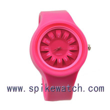 White Color China supplier Wholesale Cheap OEM Brand Quartz Silicone Wrist Watch