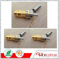 RF Straight Bulkhead Female Jack Crimp for Cable Flex3.9 L9 Din 1.6/5.6 Connector