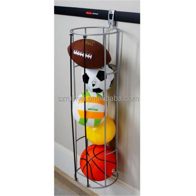 Hot Sell Silvery Wall Mounted Gym Hanging Bowling Ball Rack