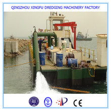 Xf china river sand dredging cutter suction dredger, used dredger