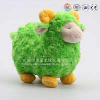 Lovely real-like Musical stuffed plush sheep animal doll