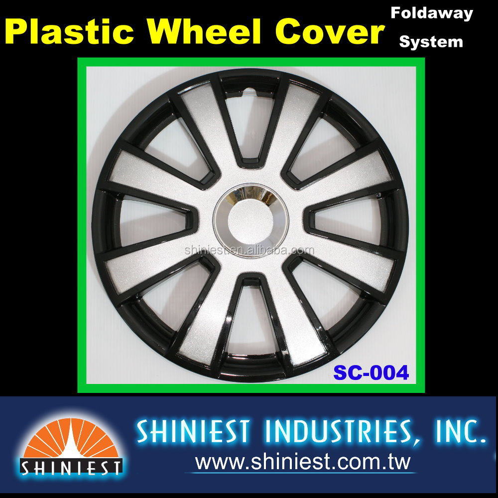2015 Best Selling Car product for Auto Wheels SC-004 15 inch Plastic Universal Wheel Rim Cover
