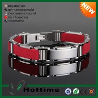 4 in 1 Bio Elements Energy Silicone Magnetic Stainless Steel Japan Cheap Fashion jewelry Hong Kong