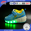 Kids Adult Retractable Single/Dual Wheel Roller Skate Youth Mesh LED Light Shoes